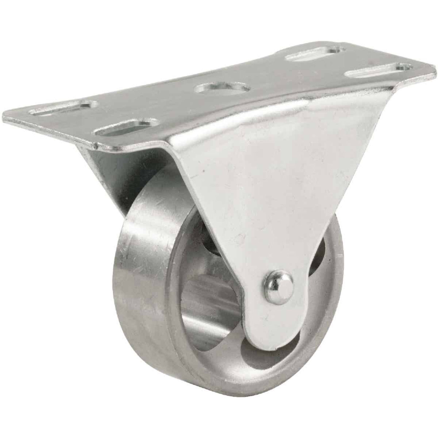 Shepherd 2 In. General-Duty Cast-Iron Rigid Plate Caster Image 1