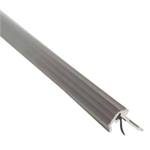 M-D Ultra 3/4 In. x 7 Ft. Aluminum T-Astragal Nail-on Door Weatherstrip