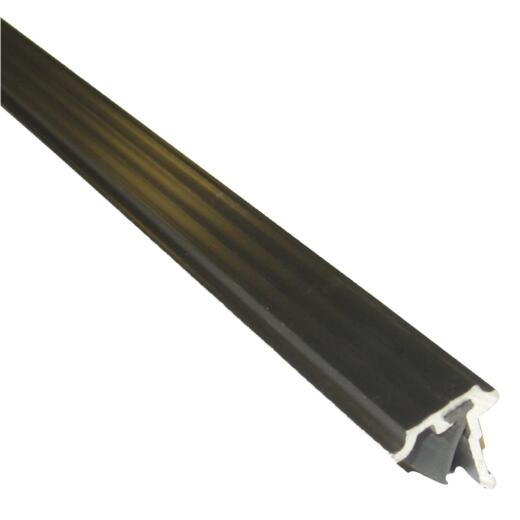 M-D Ultra 3/4 In. x 7 Ft. Bronze T-Astragal Nail-on Door Weatherstrip