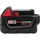 Milwaukee M18 REDLITHIUM XC 18 Volt Lithium-Ion 5.0 Ah Extended Capacity Tool Battery Image 1