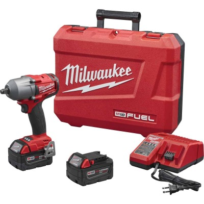 """M18 FUEL 1/2"""" Mid-Torque Impact Wrench w/ Friction Ring Kit"""