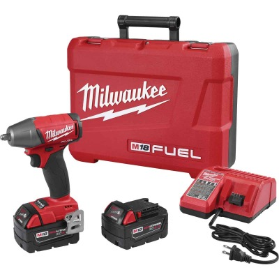 M18 FUEL 3/8 Compact Impact Wrench w/ Friction Ring Kit