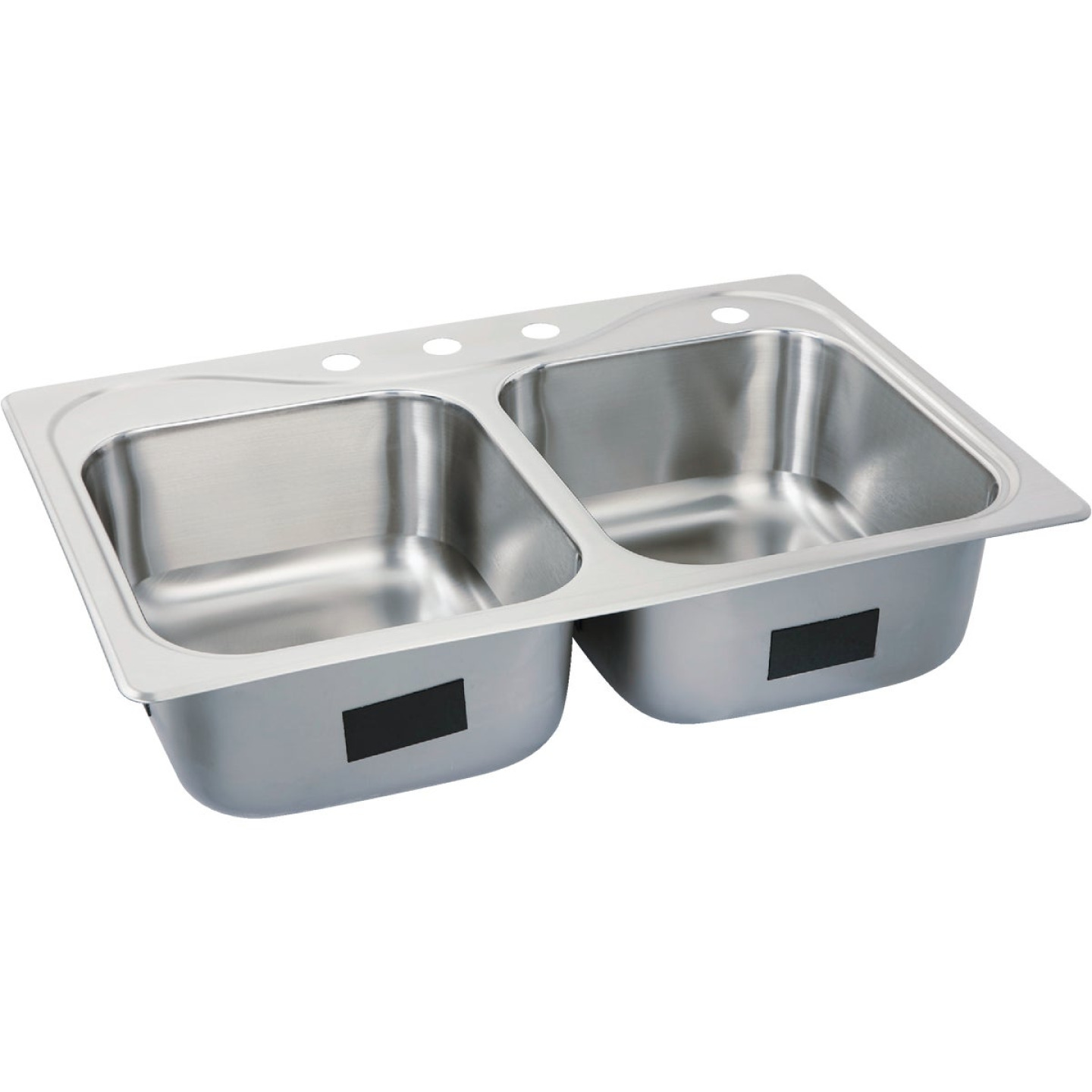 Sterling Southhaven Double Bowl 33 In. x 22 In. x 8 In. Deep Stainless Steel Kitchen Sink Image 1