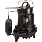 ECO-FLO 1/2 HP High Efficiency Cast Iron Submersible Sump Pump Image 1