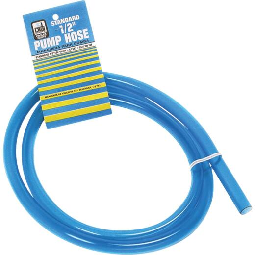 Dial 1/2 In. Dia x 5 Ft. Evaporative Cooler Pump Hose