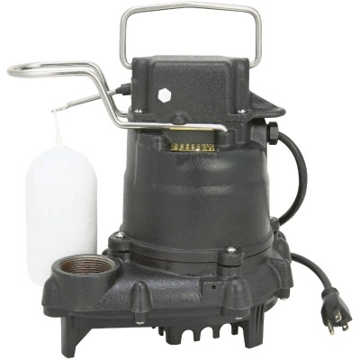 Do it Best 3/10 HP 115V Effluent and Submersible Sump Pump