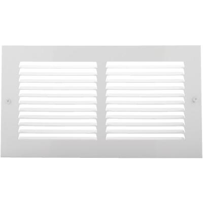 Home Impressions 6 In. x 12 In. Stamped Steel Return Air Grille