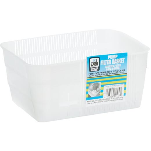 Dial Polyethylene Heavy-Duty Pump Filter Basket