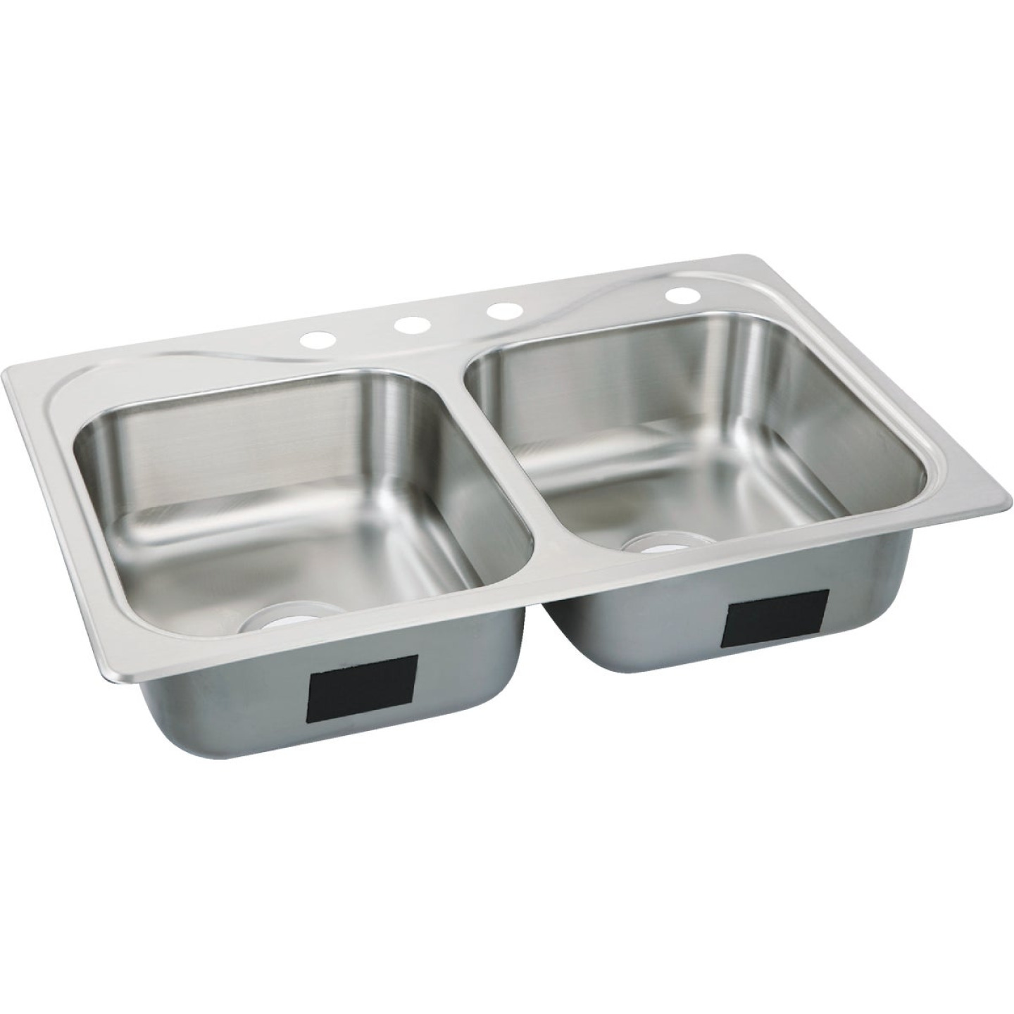 Sterling Southhaven Double Bowl 33 In. x 22 In. x 7 In. Deep Stainless Steel Kitchen Sink Image 1