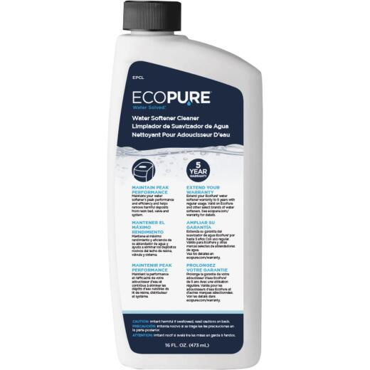 EcoPure 16 Oz. Liquid Water Softener Cleaner
