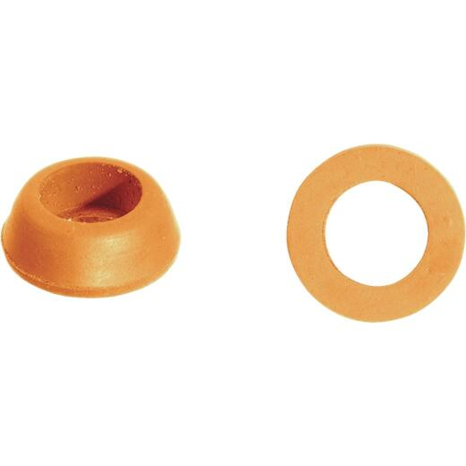 Danco 23/32 In. x 13/32 In. Orange Rubber Slip Joint Washer