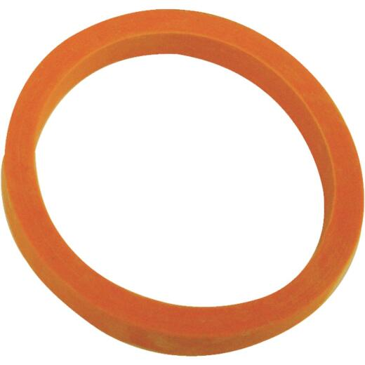 Danco 1-1/2 In. x 1-1/4 In. Orange Rubber Slip Joint Washer