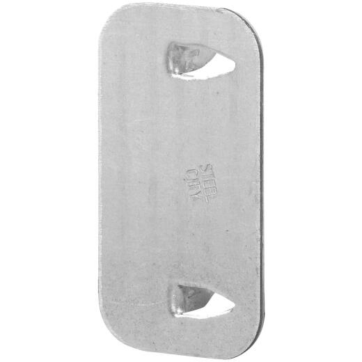 Halex 2-1/2 In. x 1-1/2 In. Steel Cable Protector Plate