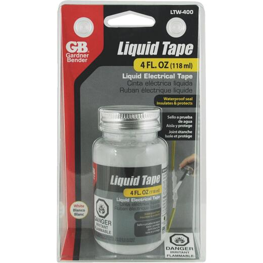 Gardner Bender 4 Oz. White Electrical Liquid Tape