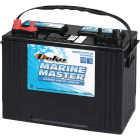 Deka Marine Master 12-Volt 600 CCA Deep Cycle/Starting Marine/RV Battery, Left Front Positive Terminal Image 1