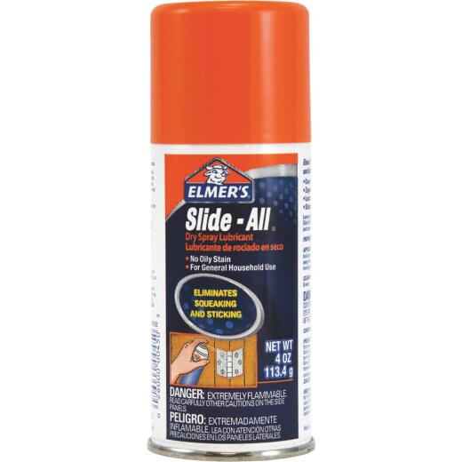 Elmer's Slide-All 4.0 Oz. Aerosol Dry Lubricant