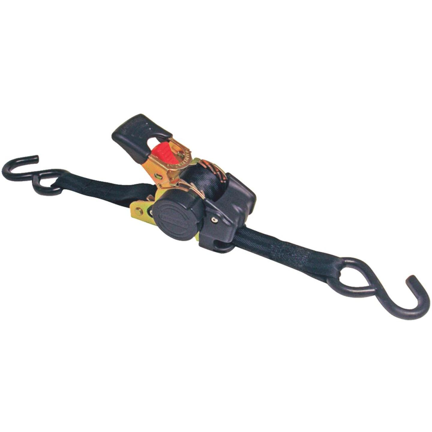 Erickson 1 In. x 10 Ft. 1200 Lb. Retractable Ratchet Strap (2-Pack) Image 1