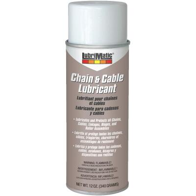 LubriMatic 12 Oz. Aerosol Spray Cable and Chain Lubricant
