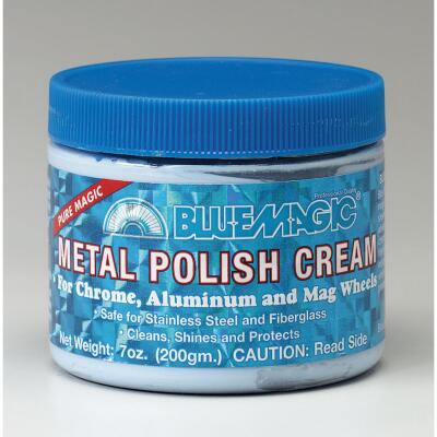 Blue Magic 7 oz Cream Chrome Polish