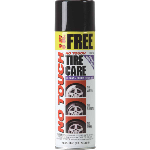 No Touch 18 Oz. Aerosol Spray Tire Cleaner