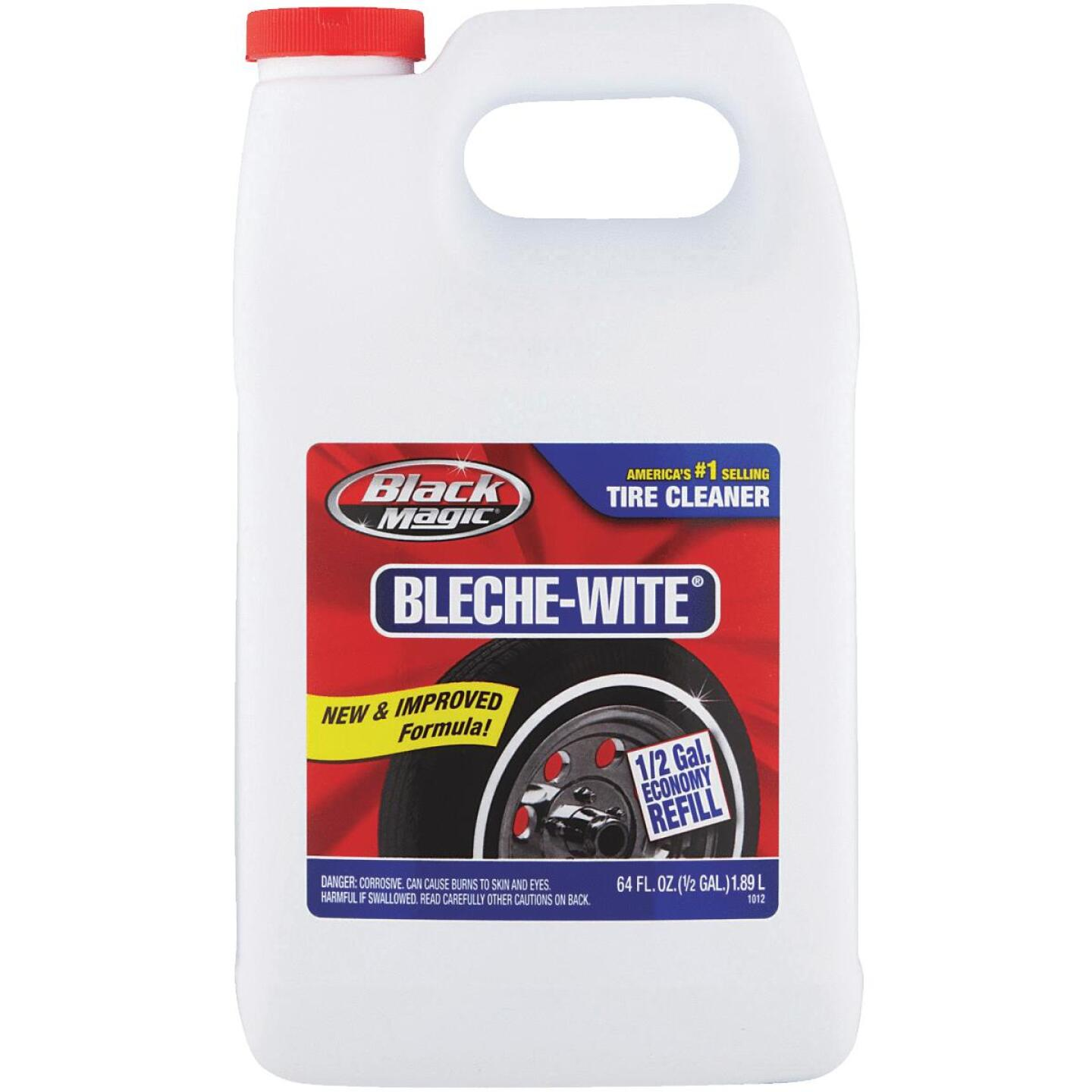 Black Magic Bleche-wite 64 oz Pourable Tire Cleaner Image 1