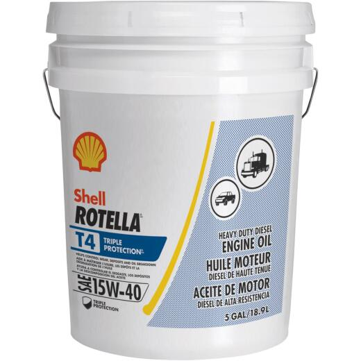 ROTELLA 15W40 5 Gal Triple Protection Motor Oil