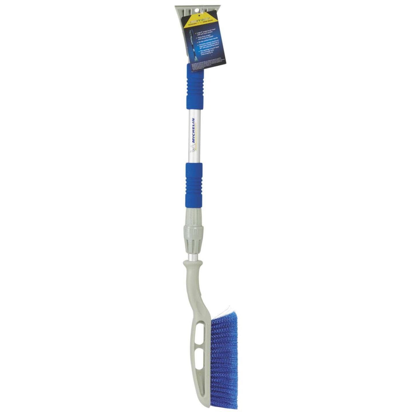 Michelin 42 In. Steel Ice Chisel Telescopic Snowbrush with Ice Scraper Image 2