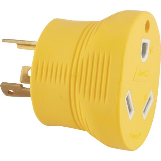 Camco Power Grip 30-Amp 3-Prong RV Generator Adapter