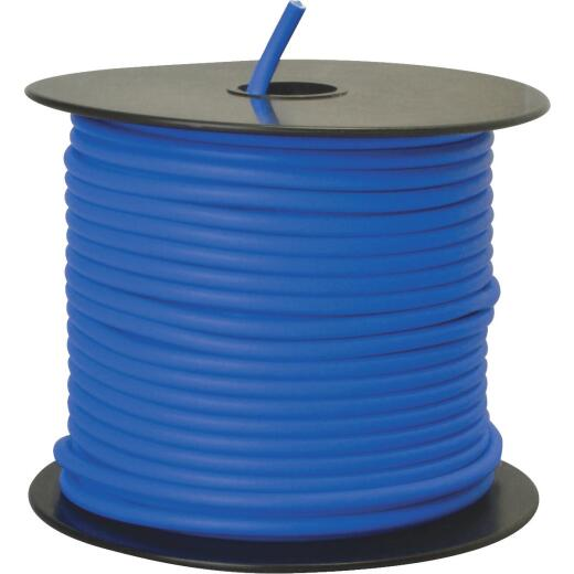 ROAD POWER 100 Ft. 12 Ga. PVC-Coated Primary Wire, Blue