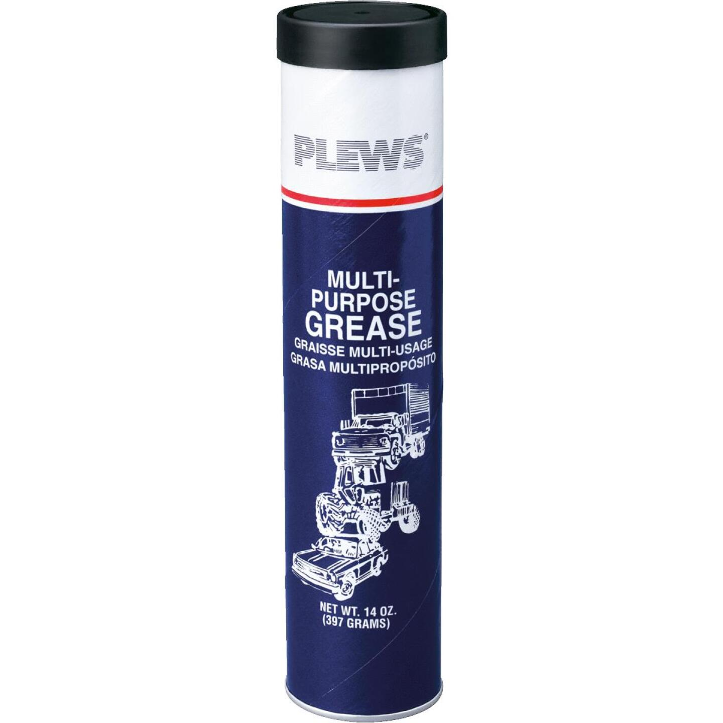 Plews 14 Oz. Cartridge Multi-Purpose Grease Image 1