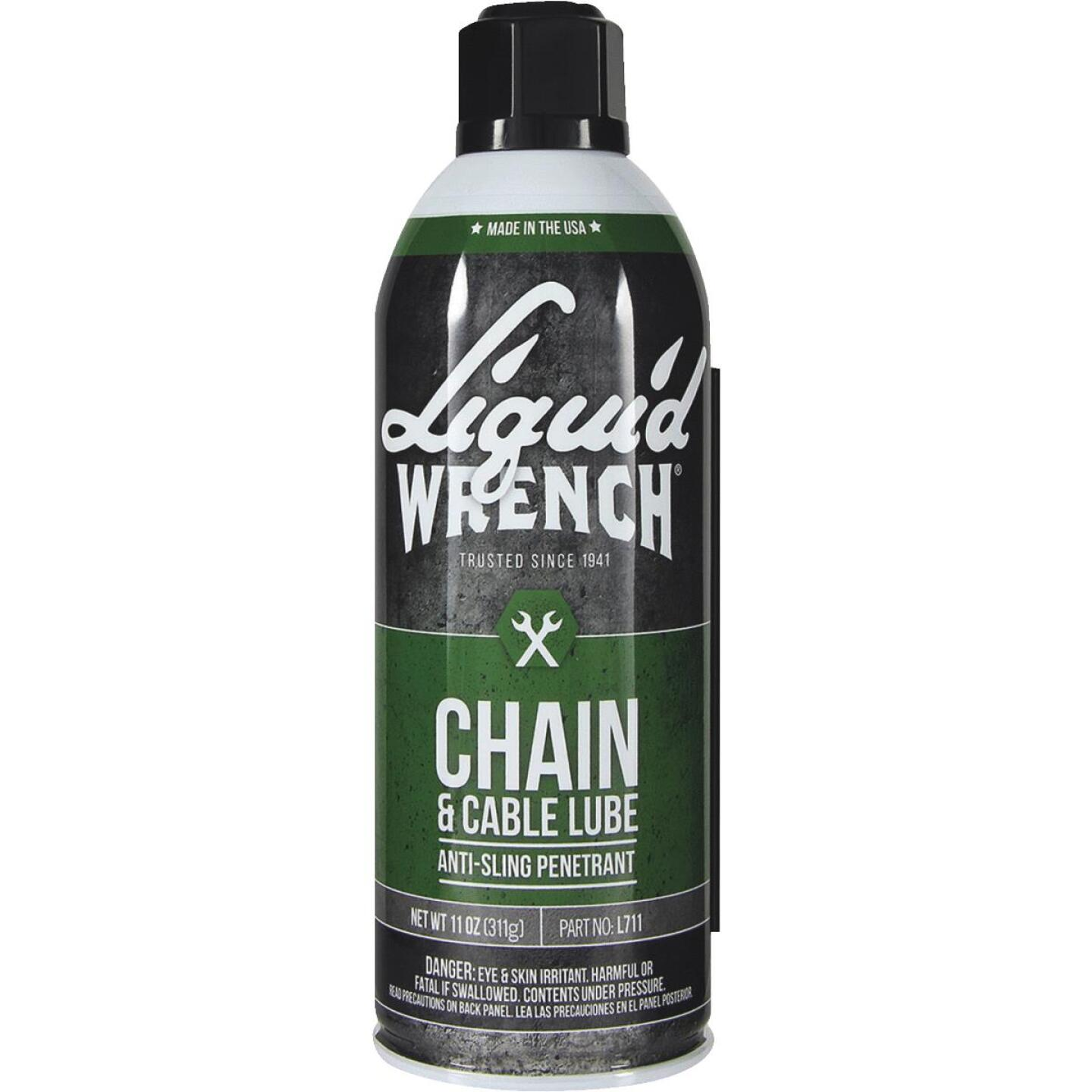 Liquid Wrench 11 Oz. Aerosol Spray Cable and Chain Lubricant Image 1