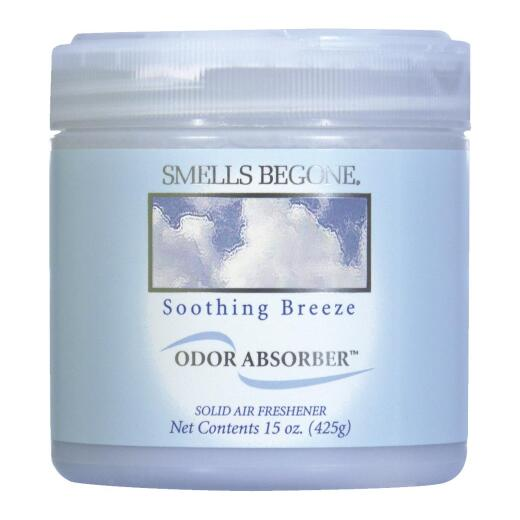 Smells Begone 15 Oz. Soothing Breeze Solid Air Freshener