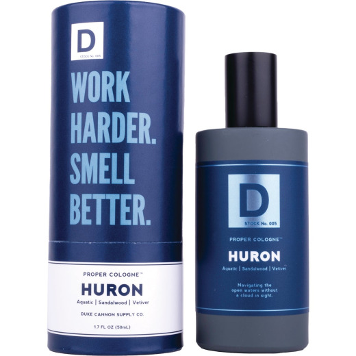 Duke Cannon 1.7 Oz. Huron Liquid Proper Cologne