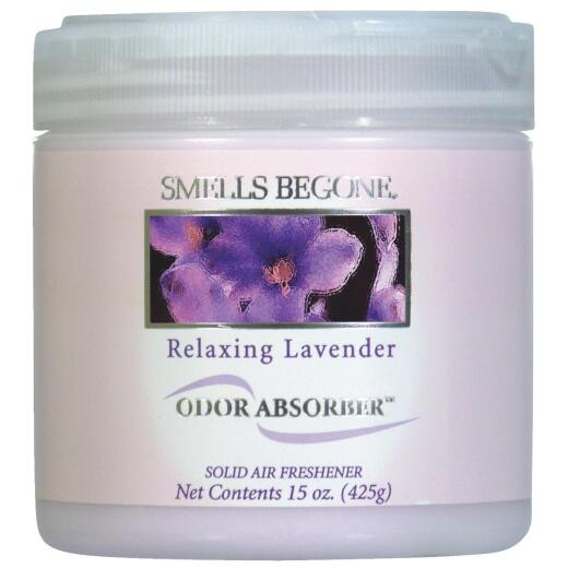 Smells Begone 15 Oz. Relaxing Lavender Solid Air Freshener