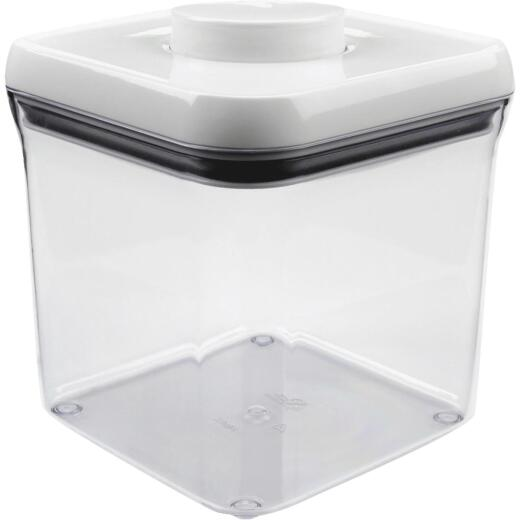 Oxo Good Grips 2.4 Qt. Clear Square Food Storage Container with Lid
