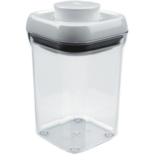 Oxo Good Grips 29 Oz. Clear Square Food Storage Container with Lid