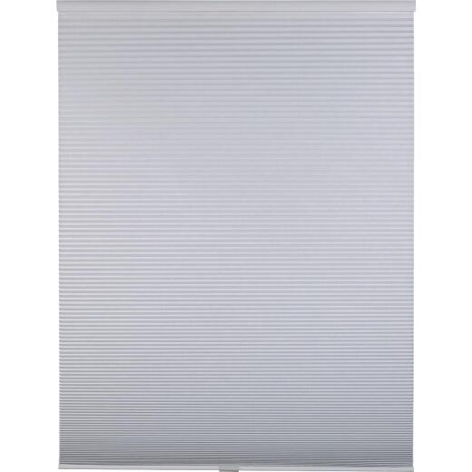 Home Impressions 1 In. Room Darkening Cellular White 34 In. x 72 In. Cordless Shade