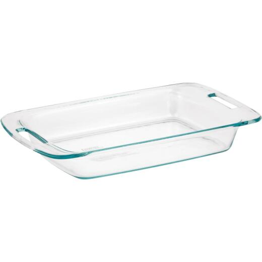 Pyrex Easy Grab 3 Qt. Glass Oblong Baking Dish