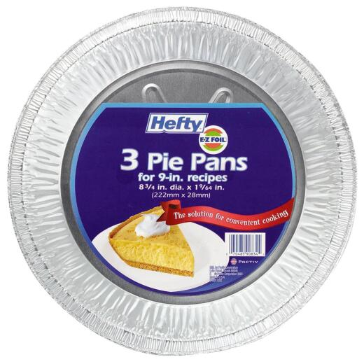 EZ Foil 8-3/4 In. Deep Pie Pan (3-Count)
