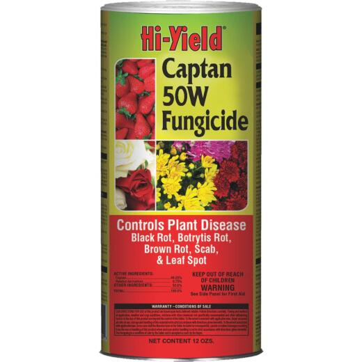 Hi-Yield 12 Oz. Powder Concentrate Captan Fungicide