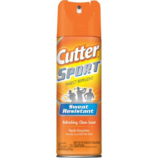 Cutter Sport 6 Oz. Insect Repellent Aerosol Spray