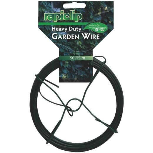 Rapiclip 50 Ft. Vinyl Coated Garden Wire