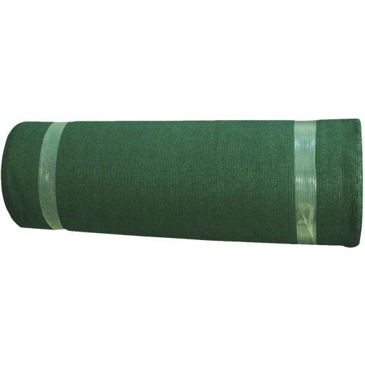 Coolaroo 12 Ft. W. x 50 Ft. L. Forest Green 70% UV Sun Screen Fabric