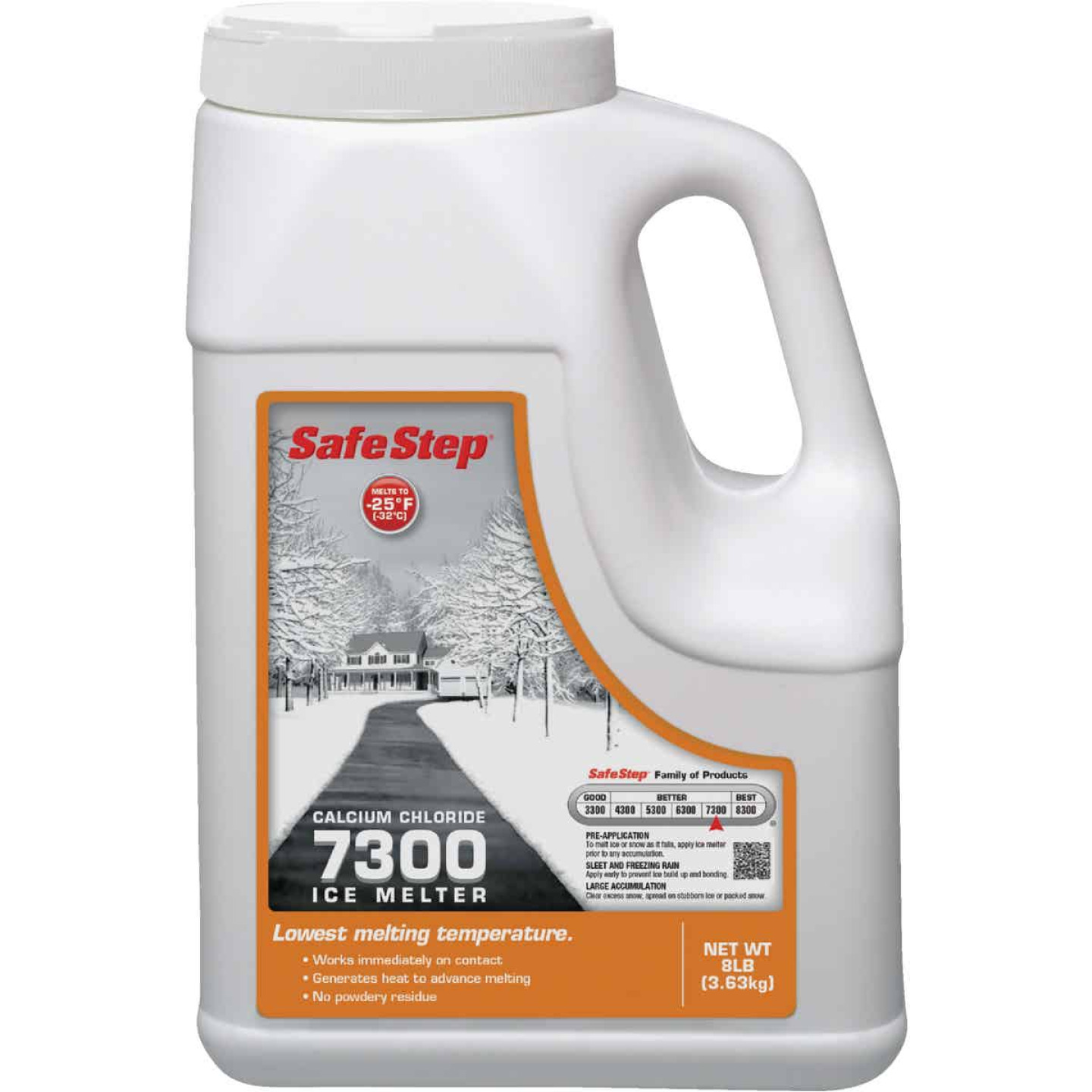 Safe Step 7300 8 Lb. Calcium Chloride Ice Melt Pellets Image 1