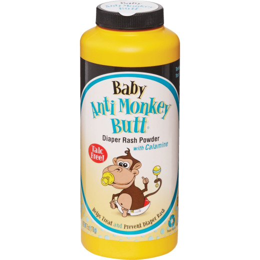 Baby Anti-Monkey Butt 6 Oz. Calamine Body Powder