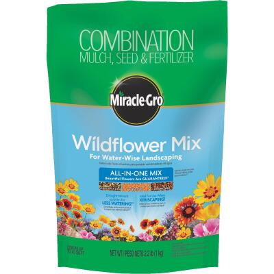Miracle-Gro All-In-One 2.2 Lb. 43 Sq. Ft. Coverage Wildflower Seed Mix