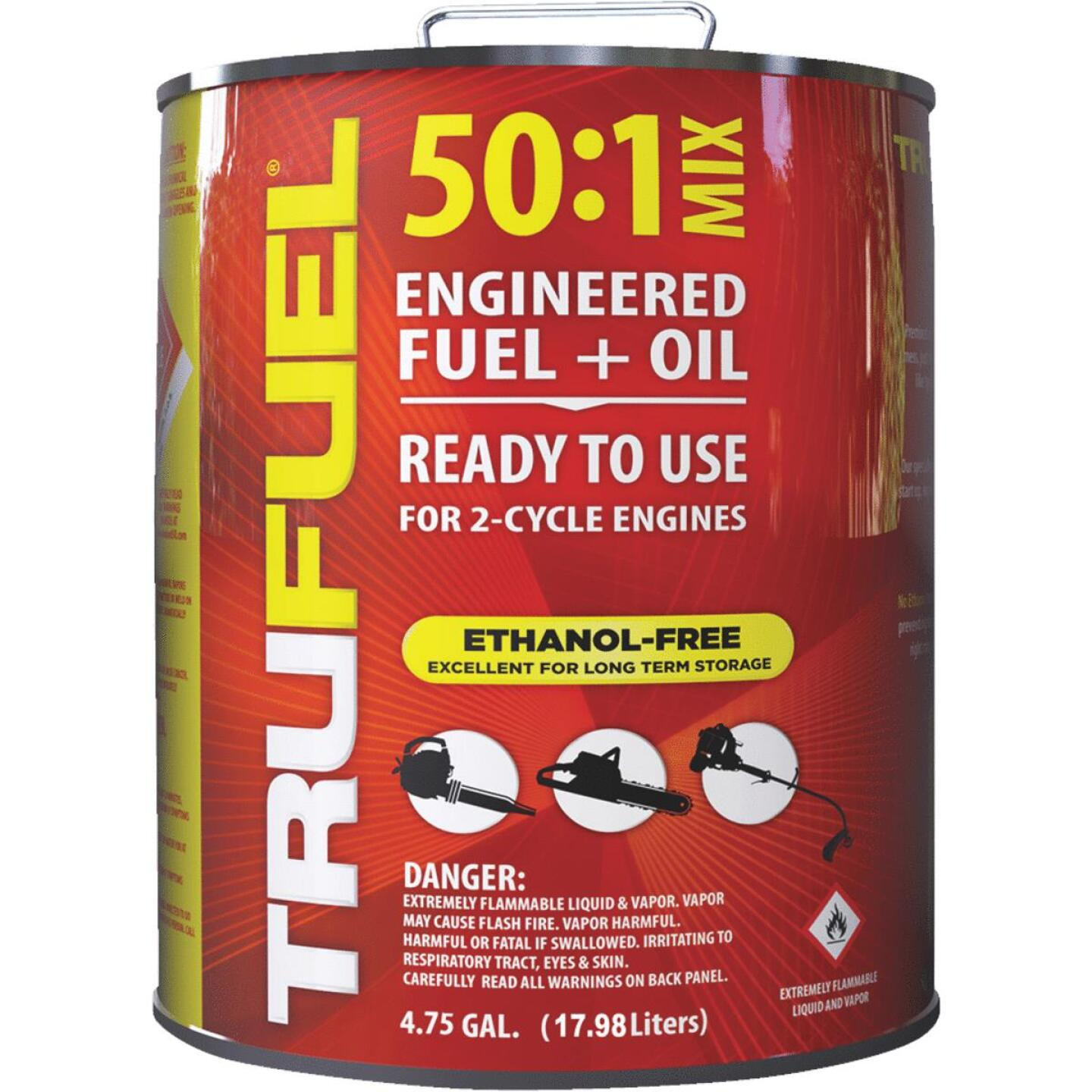 TruFuel 4.75 Gal. 50:1 Ethanol-Free Small Engine Fuel & Oil Pre-Mix Image 1