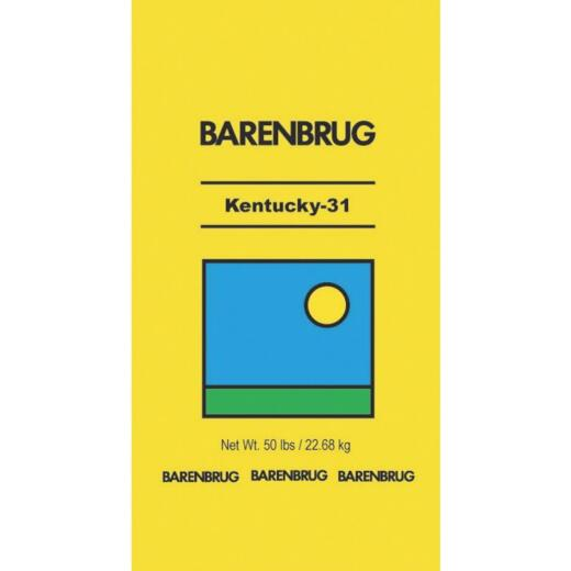 Barenbrug 50 Lb. 10,000 Sq. Ft. Coverage 50% Fescue/50% Coating Material Grass Seed