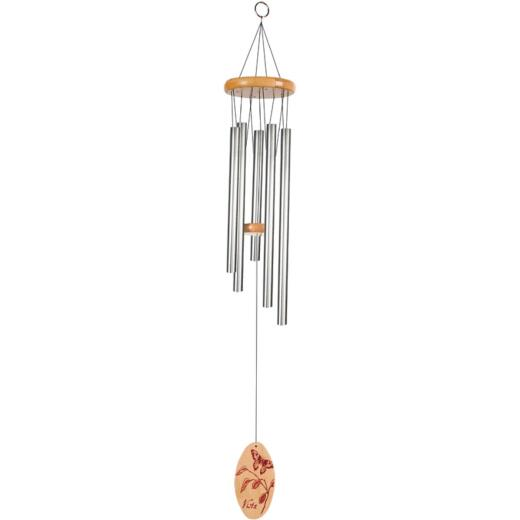 Sunset Vista Designs 29 In. Silver Wind Chime