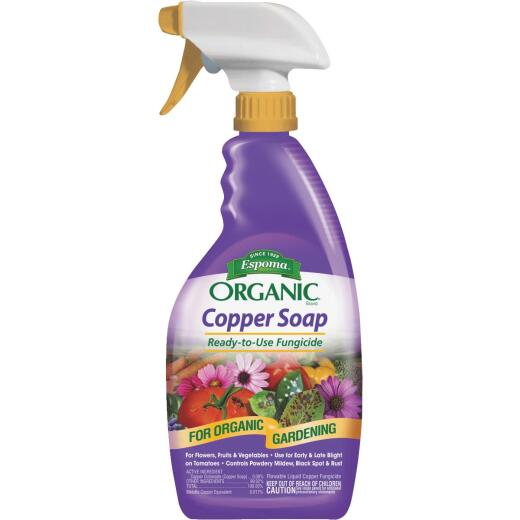 Espoma Organic 24 Oz. Ready To Use Trigger Spray Copper Soap Fungicide
